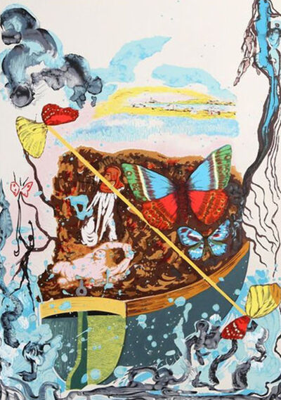 Salvador Dalí, 'Papillon Suite III', 1971