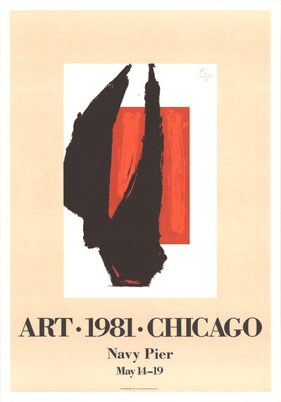 Robert Motherwell, 'Art Chicago', 1981