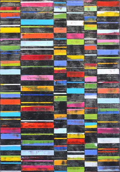 Petra Rös-Nickel, 'Black Big Stripes', 2018