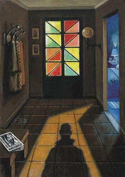 Sergio Ceccotti, 'Qualcuno entra in casa', 2016