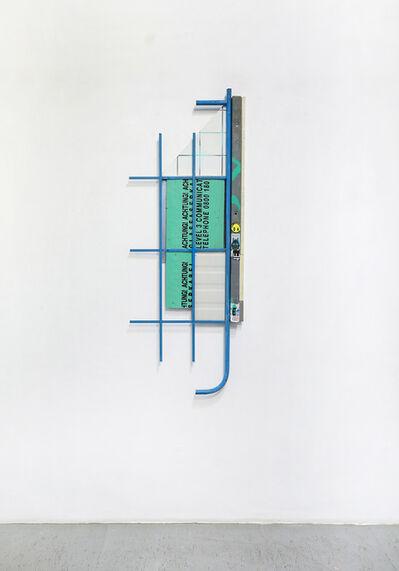 Bram Braam, 'metro '2', 2019