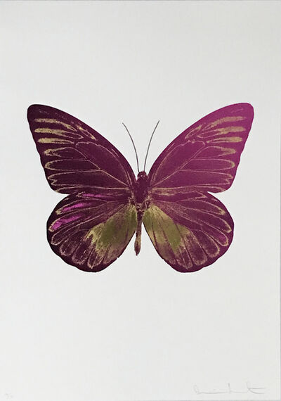 Damien Hirst, 'The Souls I, Fuchsiapink-Orientalgold', 2010