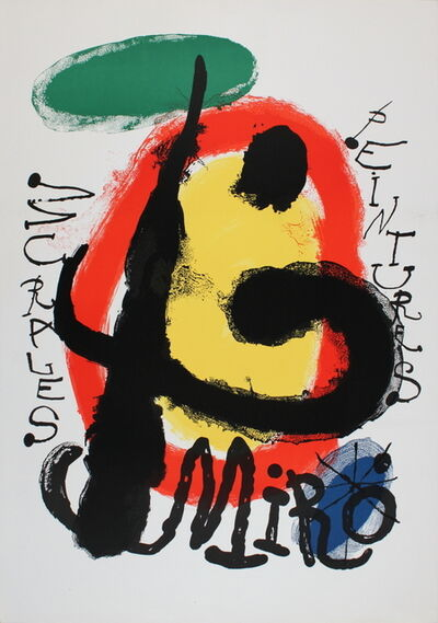 Joan Miró, 'Peintures Murales', 1961