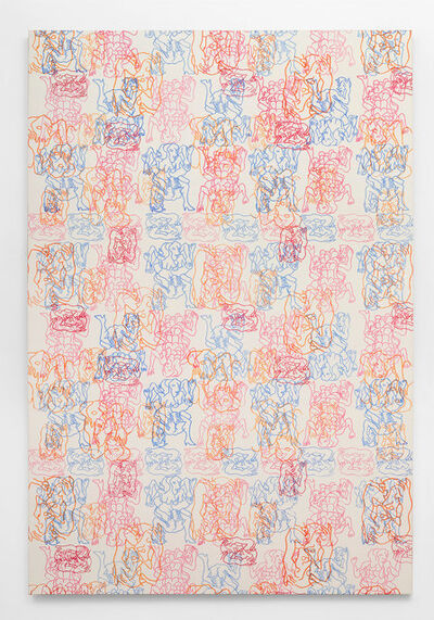 Carlos Amorales, 'Orgy of Narcissus (Repetitive Patterns 1)', 2020