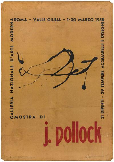 Jackson Pollock, 'Poster', 1958