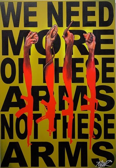 Nicer, 'We Need More Of These Arms, Not These Arms', 2019