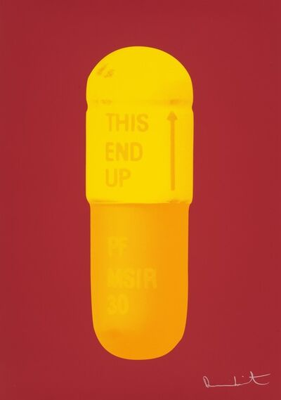 Damien Hirst, 'The Cure - Fire Red/Sun Yellow/Fire Orange', 2014