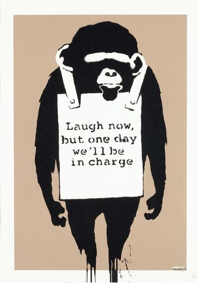 Banksy, 'Laugh Now', 2004