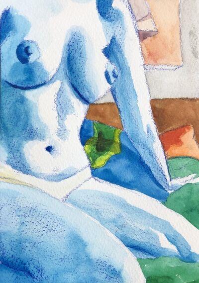 Jessica Rubin, 'Blue Nude', 2021