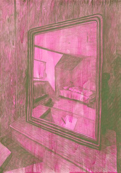 Morten Schelde, 'Ocean of Time VI (Bedroom Mirror)', 2020