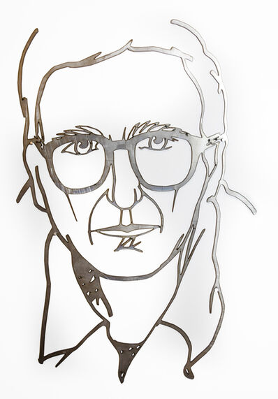 Tom Wesselmann, 'Self Portrait While Drawing', 1986