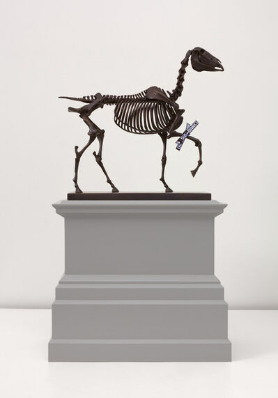Hans Haacke, 'Gift Horse, Model for Fourth Plinth, Trafalgar Square, London', 2013