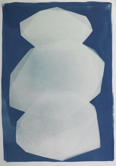 Iswanto Soerjanto, 'Transformation in Blue plate #24', 2018