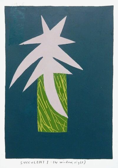 Kristin Texeira, 'succulent I', 2016