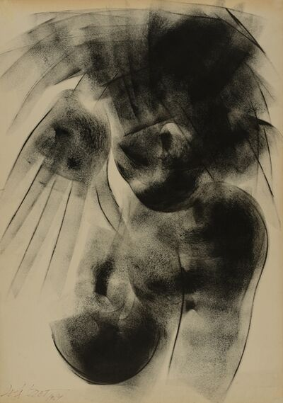 Leila Izzet, 'Abstract Nud', 1969