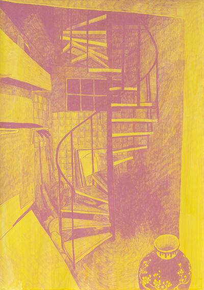 Morten Schelde, 'Ocean of Time VIII (Spiral Staircase)', 2020