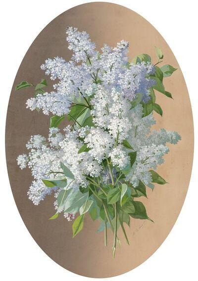 Raoul de Longpré, 'White lilacs'