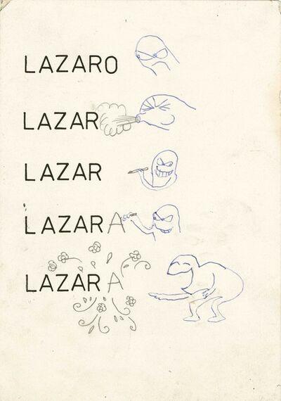 Lázaro Saavedra, 'Untitled (série Añejo 27) ', ca. 1980