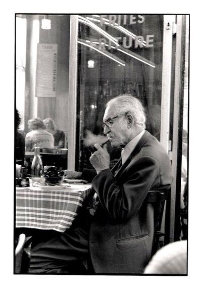 Jean Luc Olezak, 'Homme à la pipe', 1983
