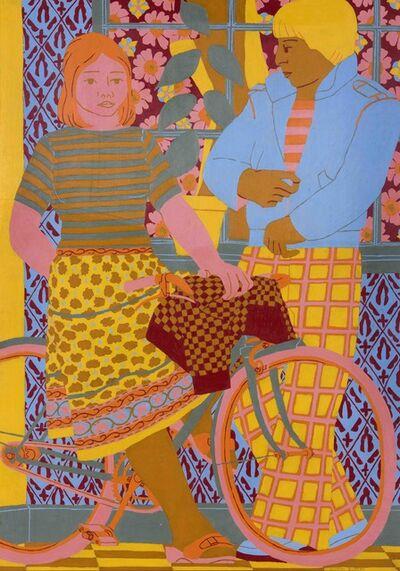 Norman Gilbert, 'Girl on a Bicycle', 1980