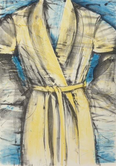 Jim Dine, 'Yellow Robe', 1980
