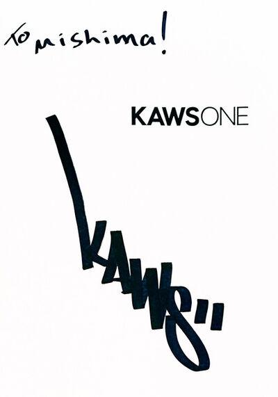 KAWS, 'Signed KAWS ONE artist book (KAWS Tokyo 2001)', 2001