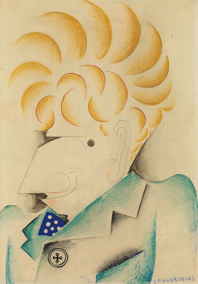 Miguel Covarrubias, 'Portrait of Alexander Brook', 1930