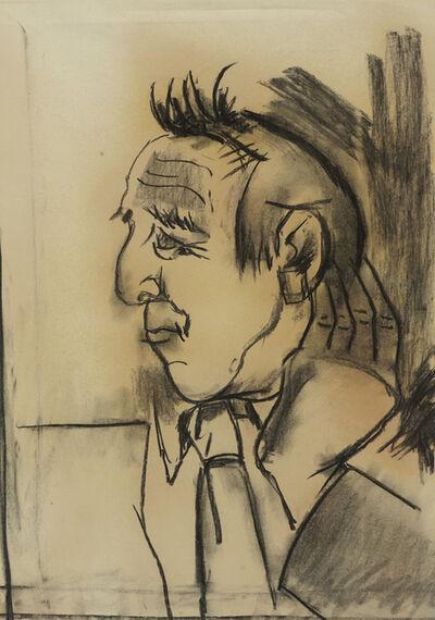 Josef Herman RA, 'Portrait of Avram Stencl', 1946