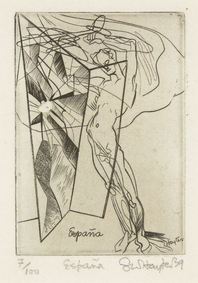 Stanley William Hayter, 'España [Black & Moorhead 127]', 1939