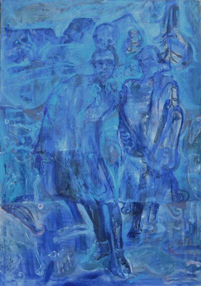 Nebojša Despotović, 'Lovers in blue', 2019