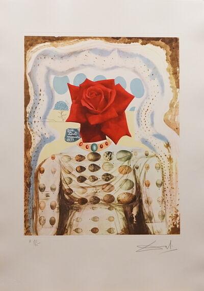 Salvador Dalí, 'Memories of Surrealism Surrealist Flower Girl', 1971