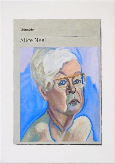 Hugh Mendes, 'Obituary: Alice Neel', 2019