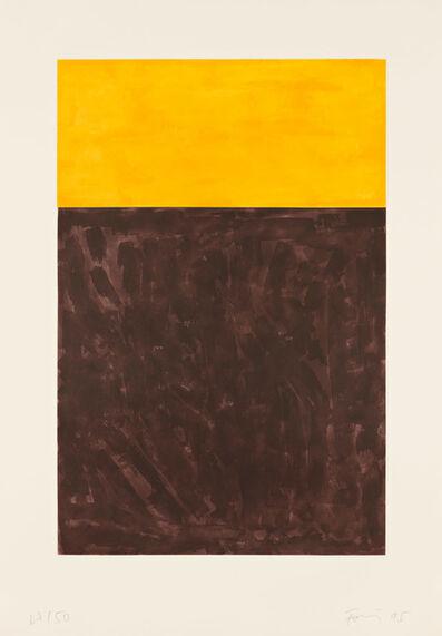 Günther Förg, 'Untitled (Brown)', 1995