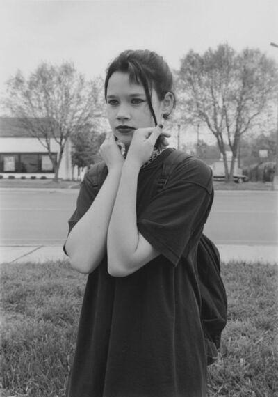 Mark Steinmetz, 'Charlotte, NC (goth girl)', 1997