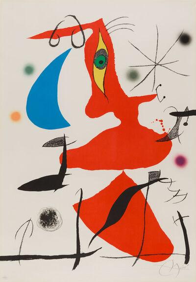Joan Miró, 'Oda a Joan Miro', 1973