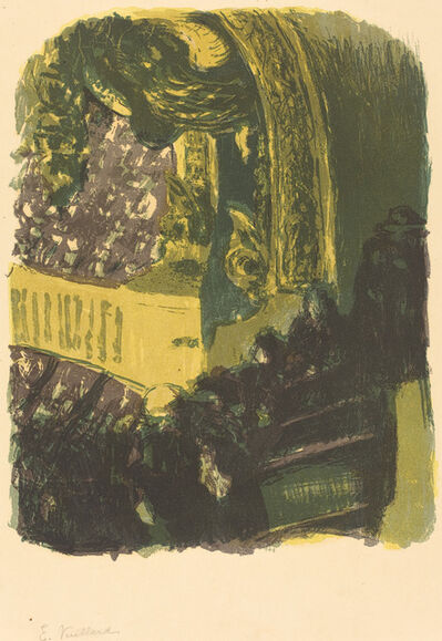Édouard Vuillard, 'A Gallery in the Gymnasium (Une galerie au gymnase)', Published 1900