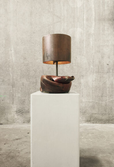 Atelier Van Lieshout, 'Lamp Made by the Hammer', 2017