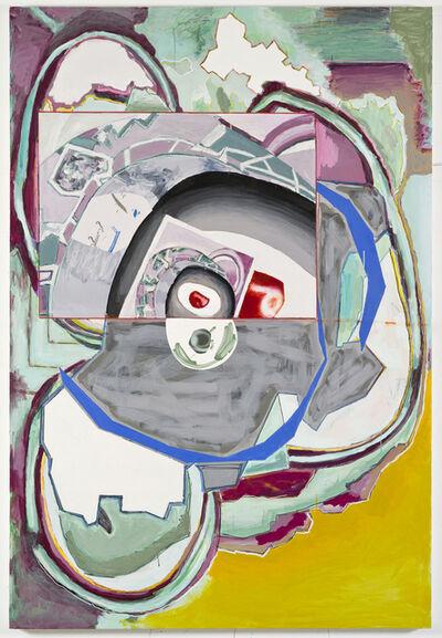 Luis Gordillo, 'Respiración protegida A', 2017
