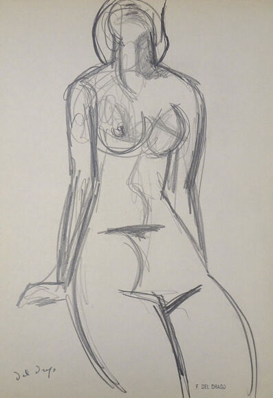 Francesco del Drago, 'Nude', XX Century
