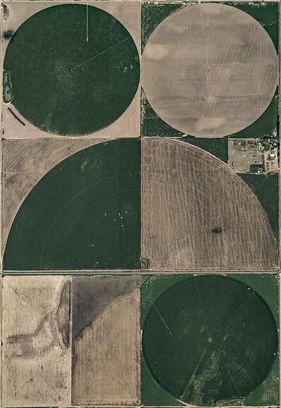 Bernhard Lang, 'Aerial Views, Circle Irrigation 10', 2004