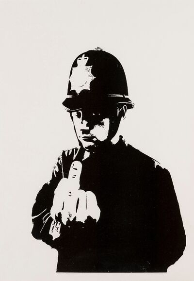 Banksy, 'Rude Copper', 2002