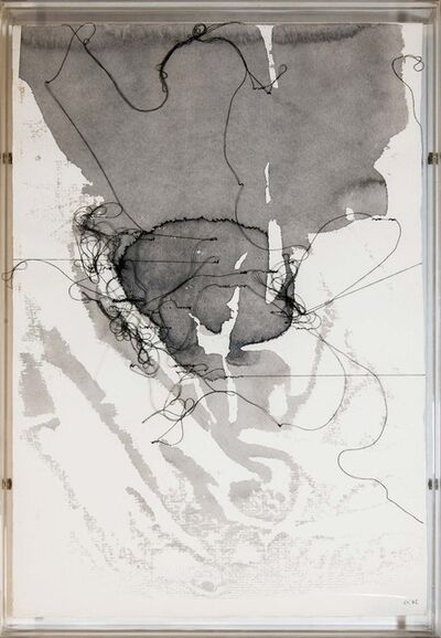 Maria Lai, 'Written page', 1982