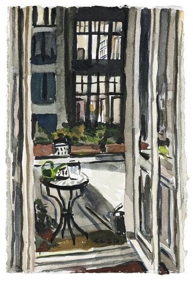 Christopher Lehmpfuhl, 'Balkon Am Abend', 2020