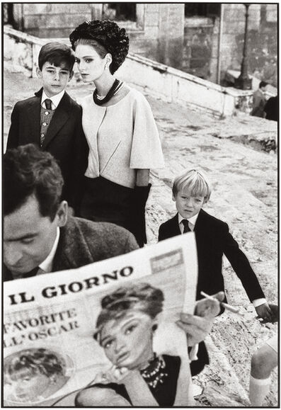 Frank Horvat, 'Rome, for Harper's Bazaar, High Fashion with Deborah Dixon I', 1962