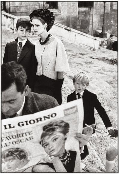 Frank Horvat, 'Rome, for Harper's Bazaar, High Fashion with Deborah Dixon I', 1962