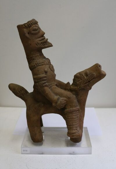 Anonymous, 'African Terracotta Equestrian Sculpture, Ghana, 14-15th AD Century', 14-15 century