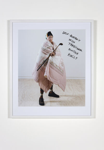 Jimmie Durham, 'Untitled (Self-portrait with traditional scottish kwilt)', 2010
