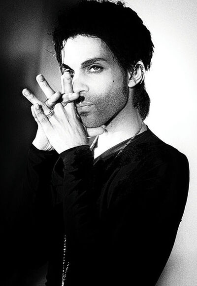 Steve Parke, 'Portrait of Prince', 1990
