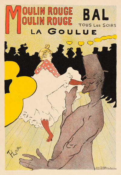 Henri de Toulouse-Lautrec, 'La Goulue - Moulin Rouge', 1898