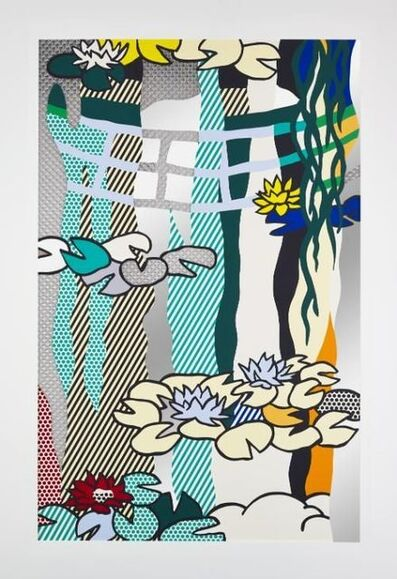 Roy Lichtenstein, 'Water Lilies with Japanese Bridge', 1992